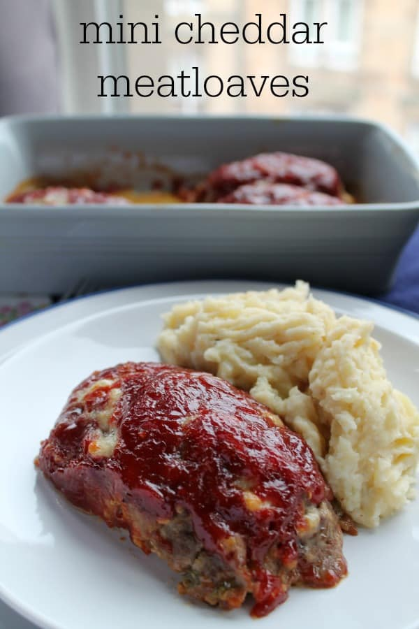 Mini Cheddar Meatloaves | How to be Awesome on $20 a Day