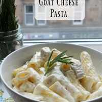 Chicken & Goat Cheese Pasta