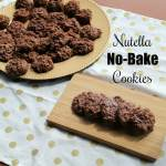 Nutella No Bake Cookies | How to Be Awesome on $20 a Day