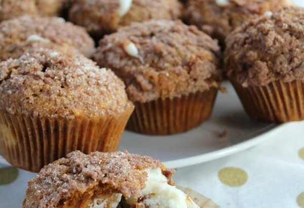 Pumpkin Cream Cheese Muffins   How to be Awesome on $20 a Day