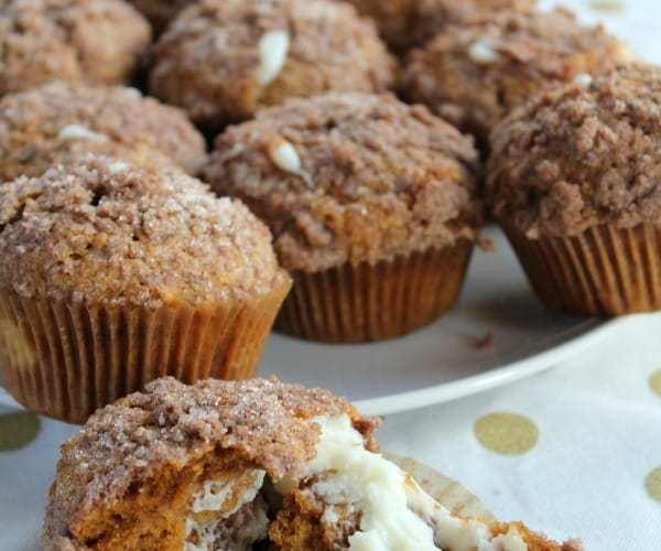 Pumpkin Cream Cheese Muffins | How to be Awesome on $20 a Day