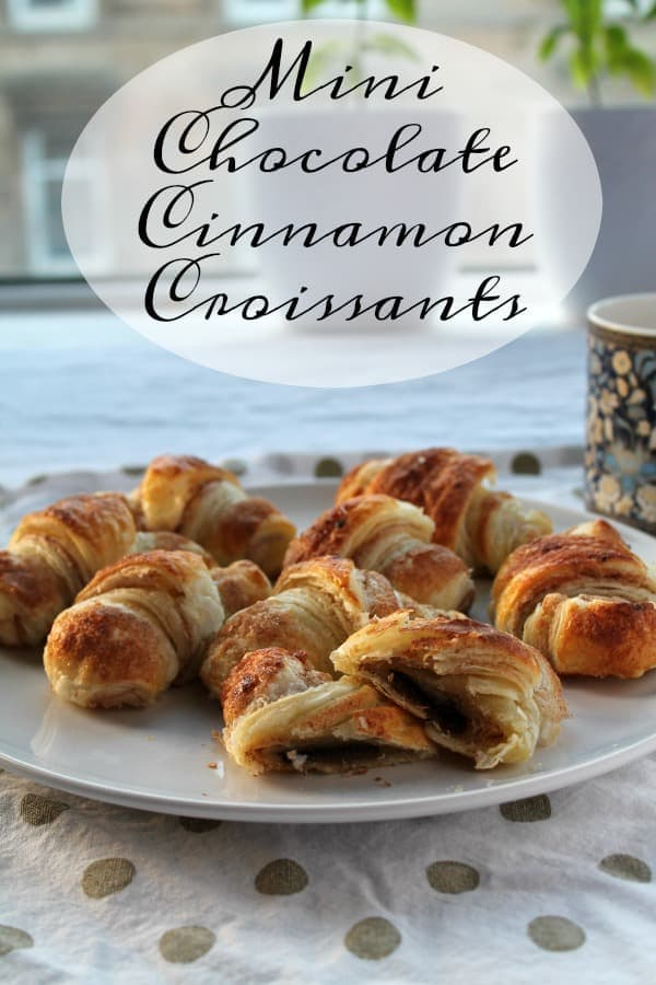 Mini Chocolate Cinnamon Croissants | How to be Awesome on $20 a Day