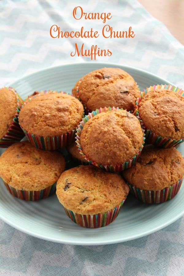 Orange Chocolate Chunk Muffins | How to be Awesome on $20 a Day