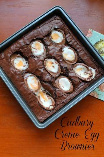 Cadbury Creme Egg Brownies | How to be Awesome on $20 a Day
