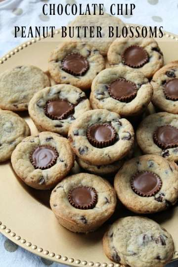 Chocolate Chip Peanut Butter Blossoms | How to be Awesome on $20 a Day