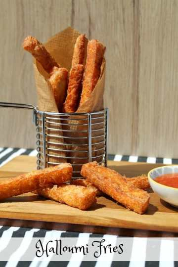 Halloumi Fries | How to be Awesome on $20 a Day
