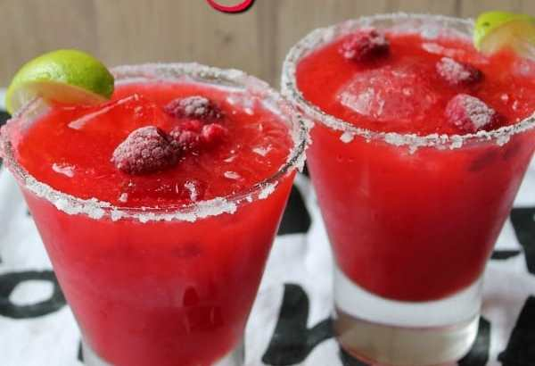Raspberry Margarita | How to be Awesome on $20 a Day