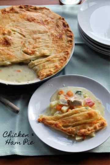 Chicken & Ham Pie | How to be Awesome on $20 a Day