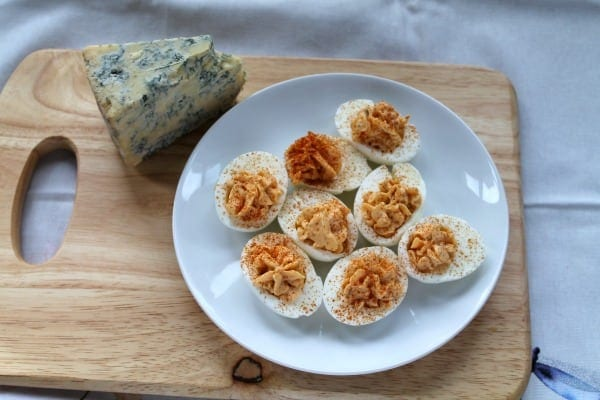 Buffalo Deviled Eggs | How to be Awesome on $20 a Day
