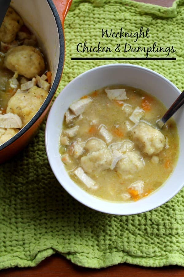 Weeknight Chicken & Dumplings | How to be Awesome on $20 a Day