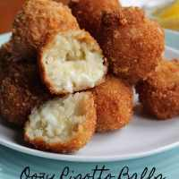 Oozy Risotto Balls