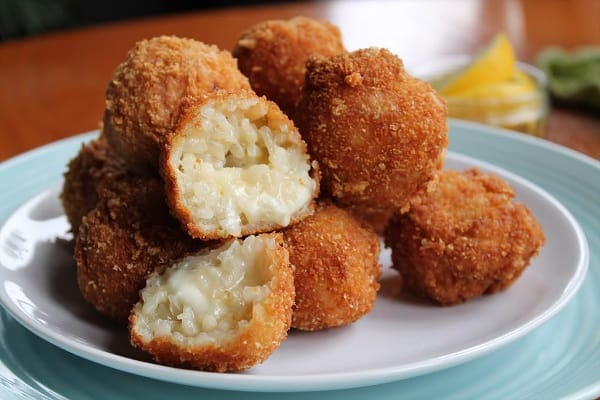 Oozy Risotto Balls | How to be Awesome on $20 a Day