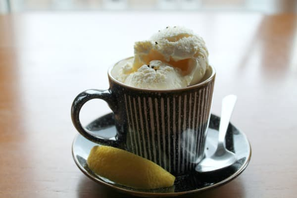 Earl Grey with Lemon Ice Cream | How to be Awesome on $20 a Day