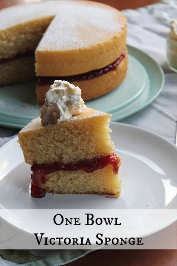 One Bowl Victoria Sponge | How to Be Awesome on $20 a Day