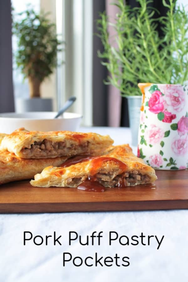 Pork Puff Pastry Pockets - How to Be Awesome on $20 a Day