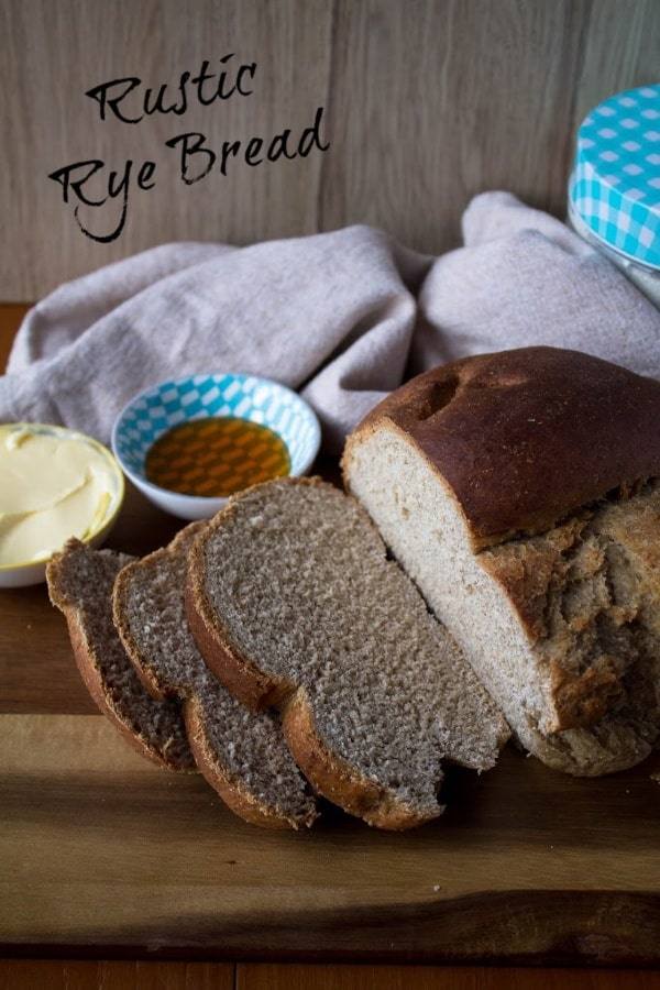 Rustic Rye Bread | How to Be Awesome on $20 a Day