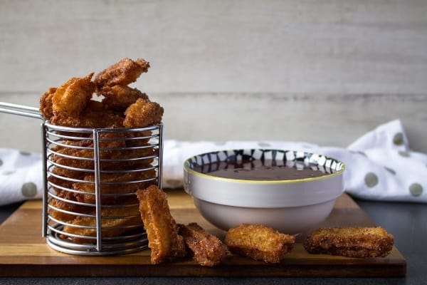 Homemade Churros with Chocolate Sauce | How to Be Awesome on $20 a Day