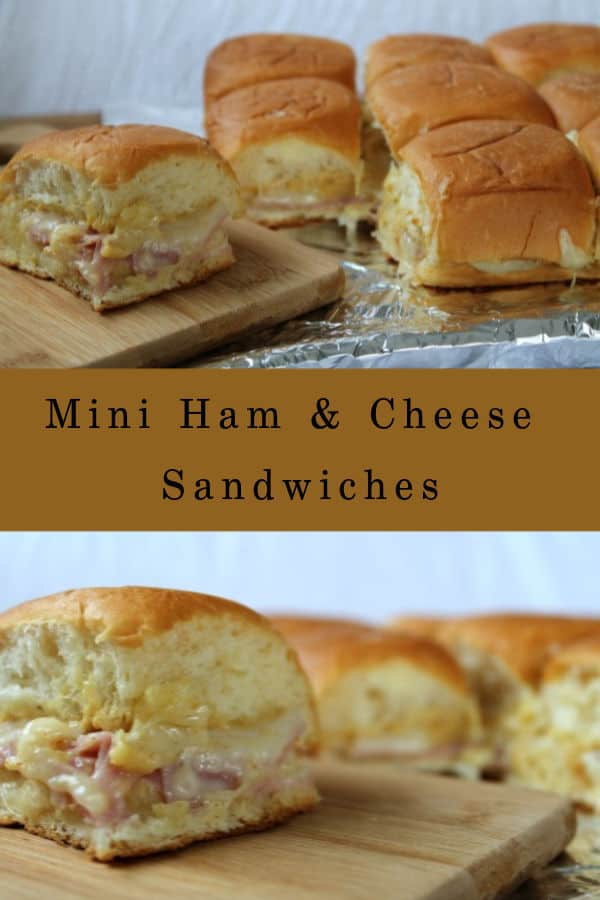 Mini Ham & Cheese Sandwiches | How to Be Awesome on $20 a Day