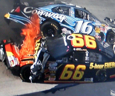 steve wallace wrecks at bristol