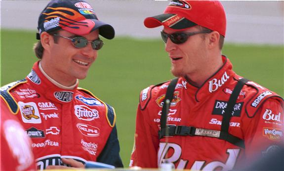 jeffgordon and dale jr