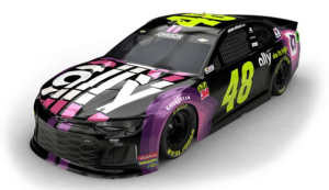 Jimmie Johnson Paint Scheme
