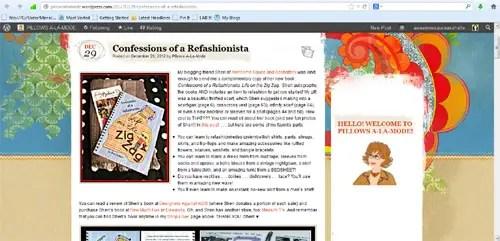 Confessions of a Refashionista in the press