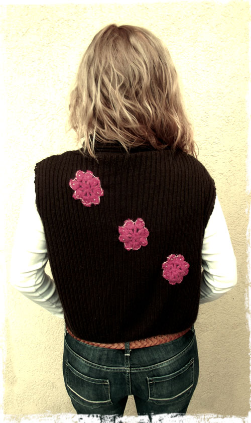 refashioned sweater simplicity: part three