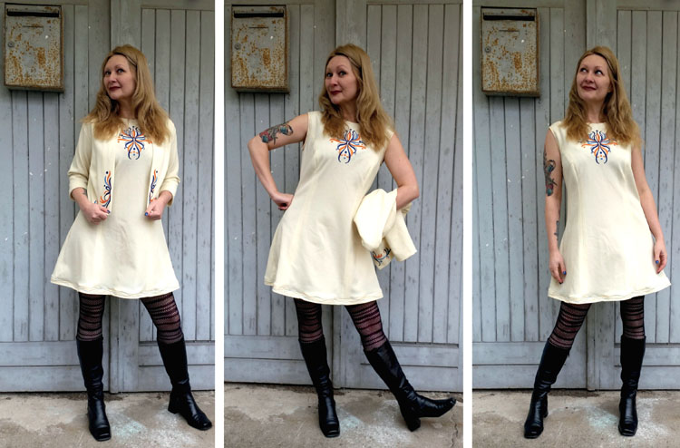 A Glamazonian Dress Refashion