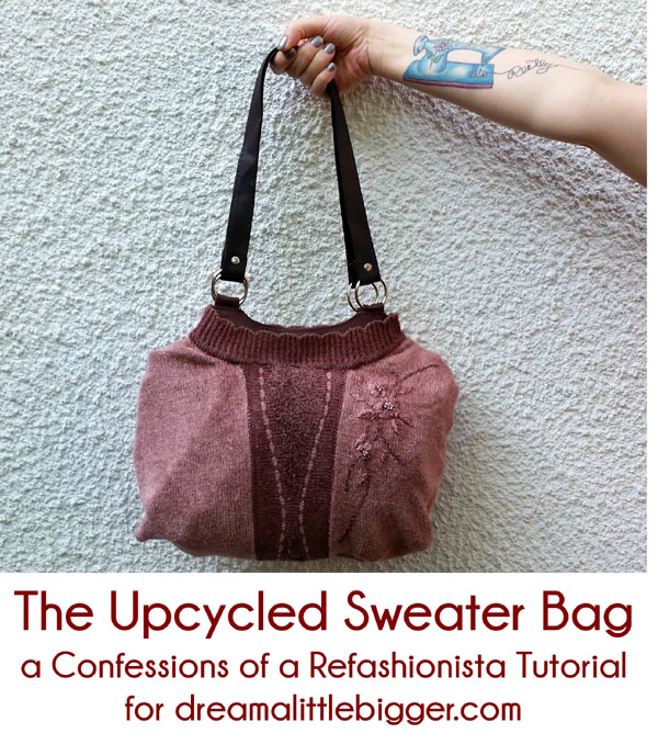 The Upcycled Sweater Bag