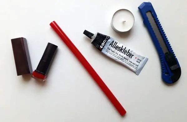 DIY Play lipstick
