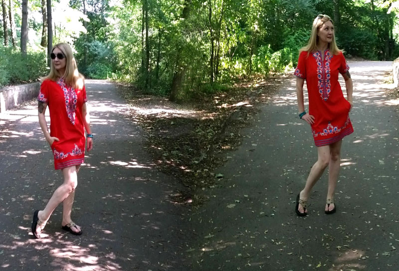 thrifted vintage beat the heat ootd 2
