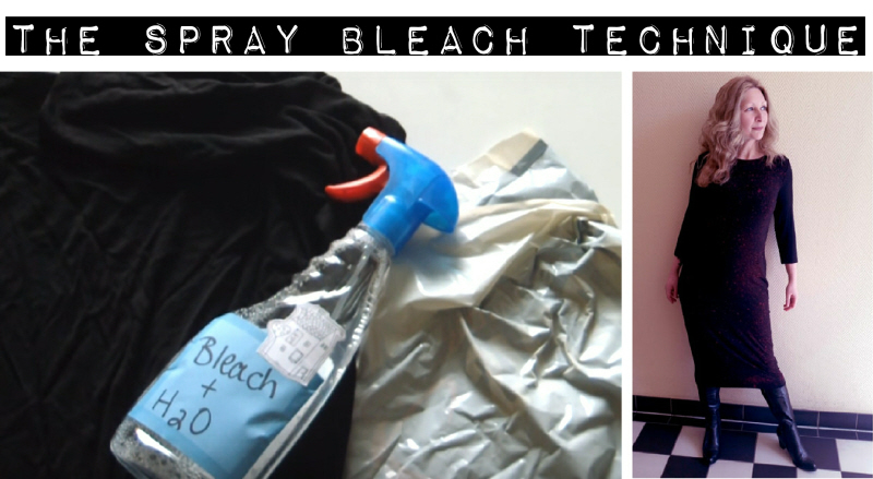 DIY Spray Bleach Technique