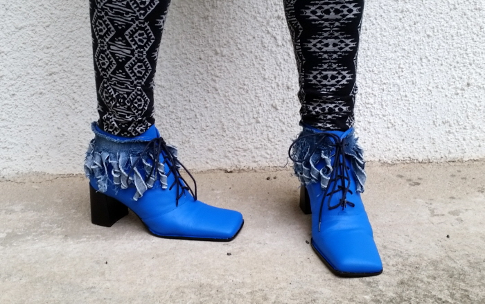 kikikumi refashioned shoes front 2