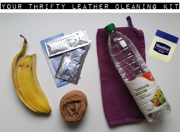Your thrifty leather cleaning kit