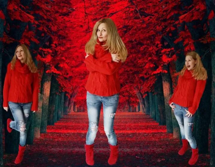 A red #thriftythursday