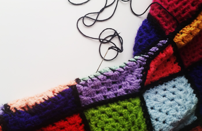My Refashioned Crocheted Granny Square Top Tutorial