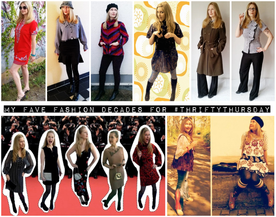 My Fave Fashion Decade(s) for #ThriftyThursday
