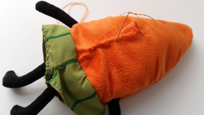 Simple Upcycled Hot and Cold Pack Softie