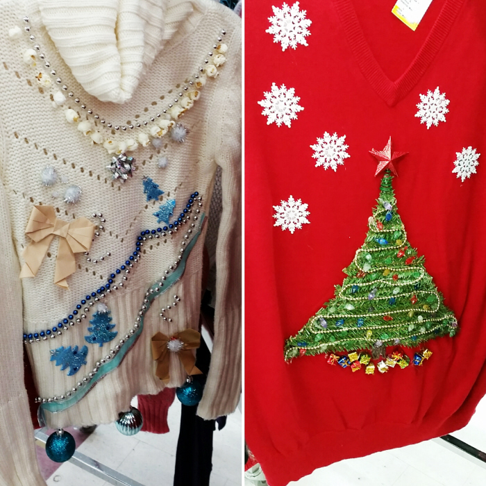 December Refashion Challenge: Thrifted DIY Gifts