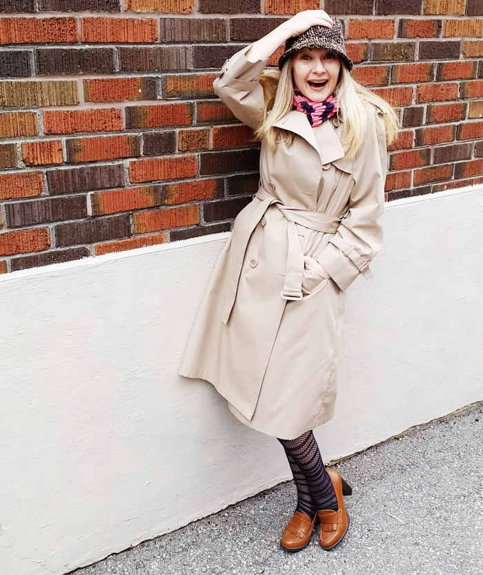 Trench Coats on #ThriftyThursday