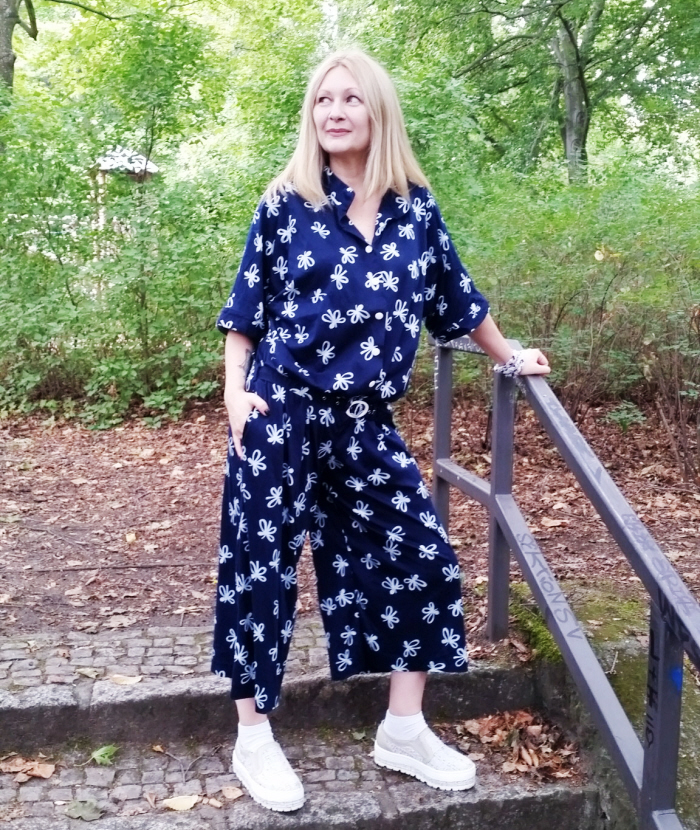 My DIY Oversized Jumpsuit for #ThriftyThursday