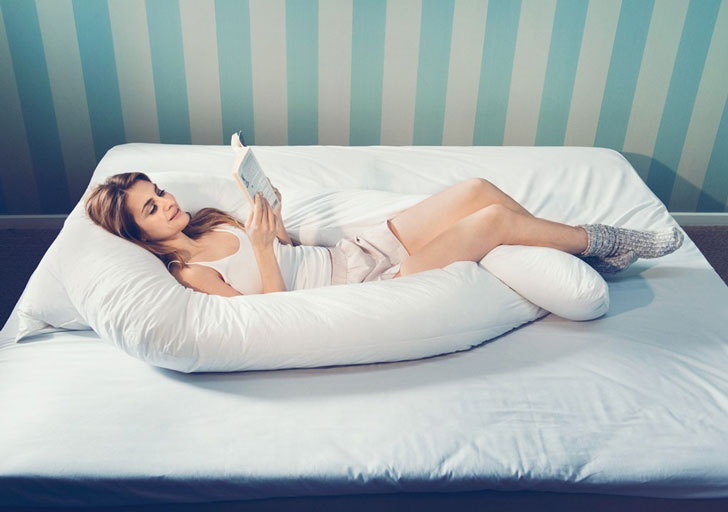 giant u shaped body pillow awesome