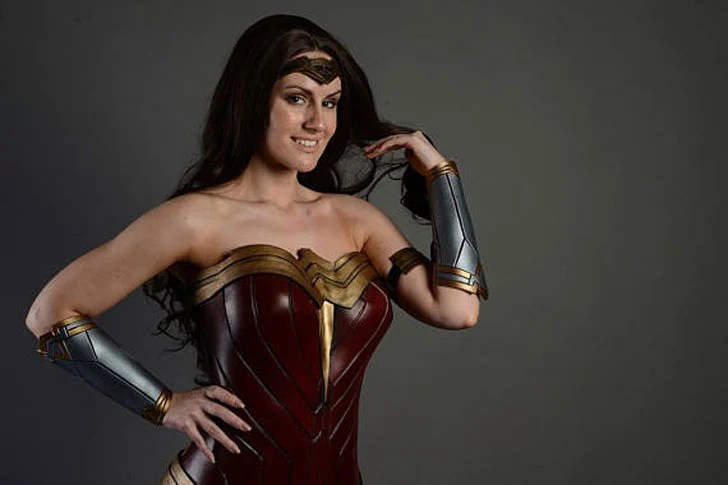 Cliente completo feito maravilha mulheres cosplay - cosplay idéias para meninas
