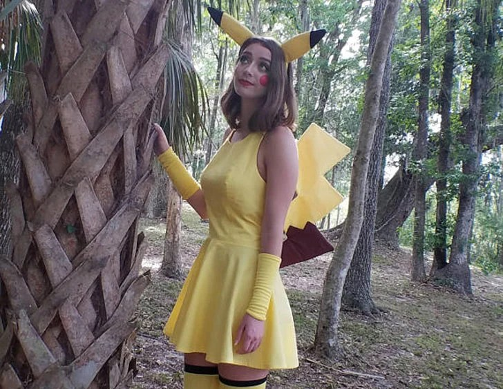 Pikachu Cosplay Costume - Cosplay Ideas For Girls