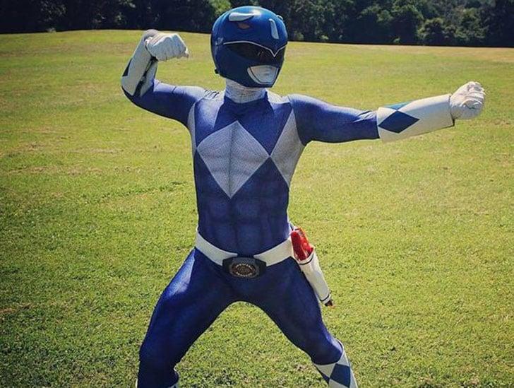 Azul Ranger Bodysuit Cosplay