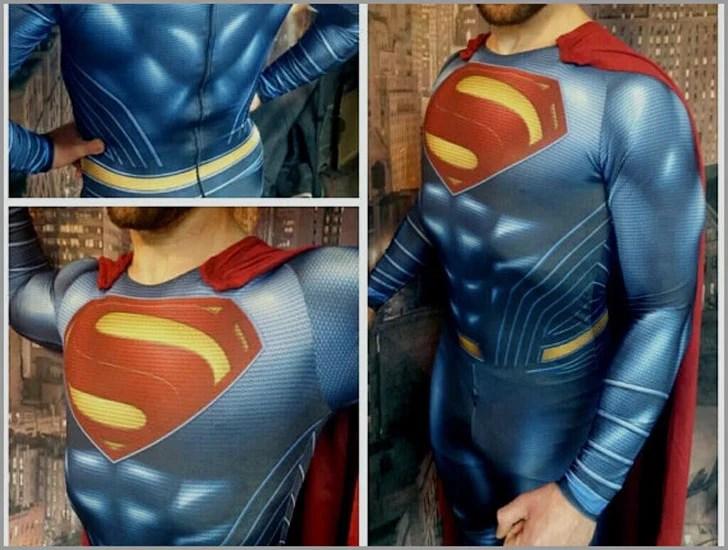 Homem de aço Superman Suit