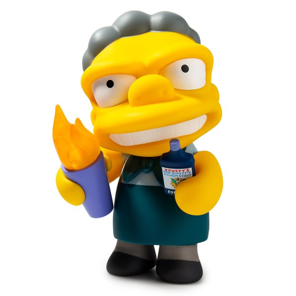 The Simpsons Flaming Moe's Moe Art Figure Now Available at ...