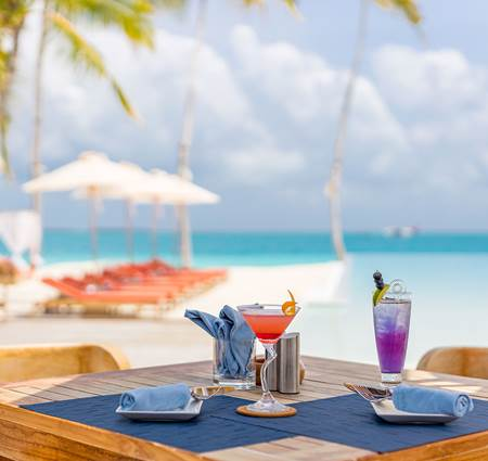 Enjoy a Freshly Prepared Cocktail at Together