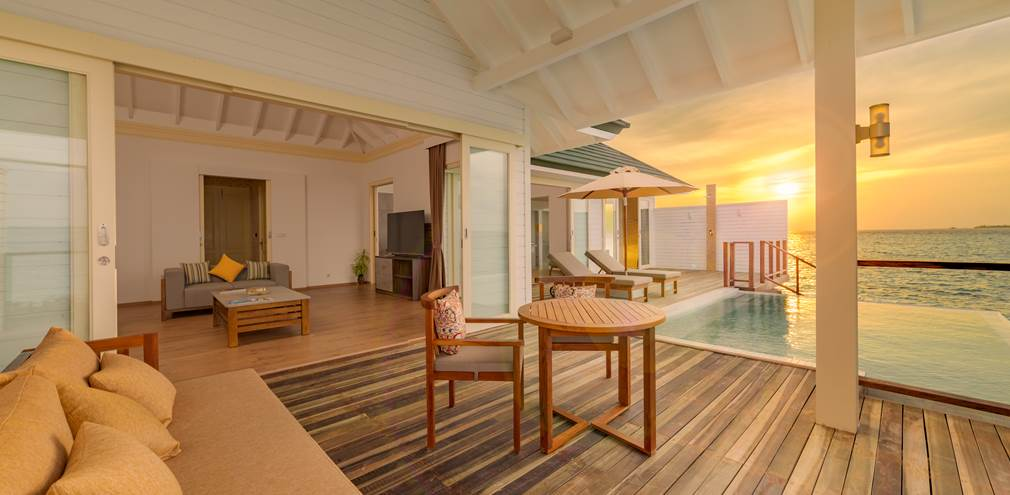 Water Suite at Siyam World in the Maldives
