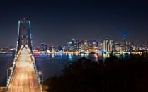 San Francisco At Night Wide - 2880x1800